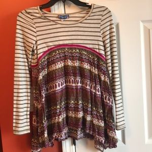 Tops - Patterned Girls Top